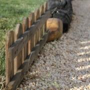 detalle de una valla